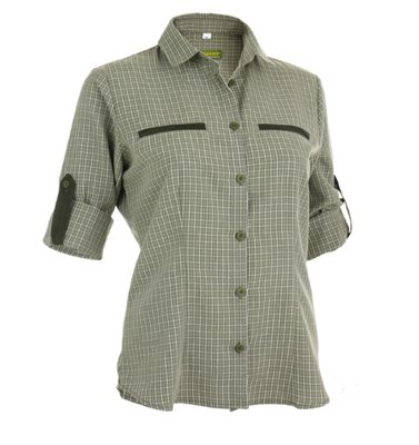 Koszula Koziołek Męska Zielona | Koszule | Odzież myśliwska