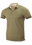 Polo Hals Olive