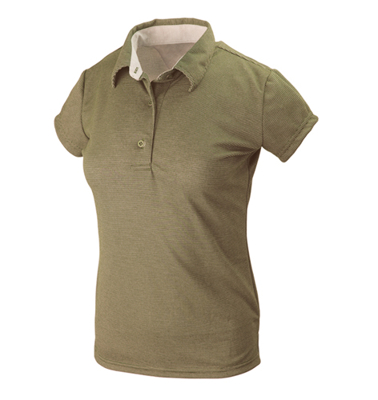 Polo Hals Lady Olive