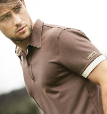 Polo Herby Short Brown